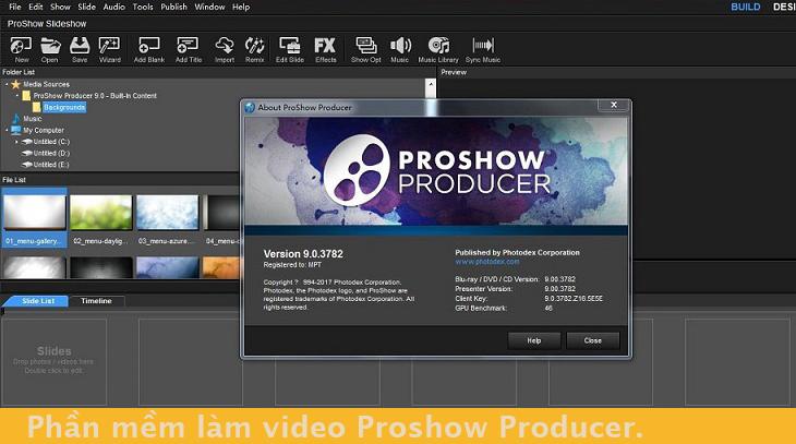 Phần-mềm-làm-video-Proshow-Producer